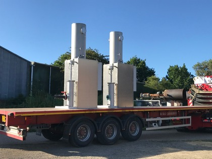 Low Calorie biogas flares ready for delivery